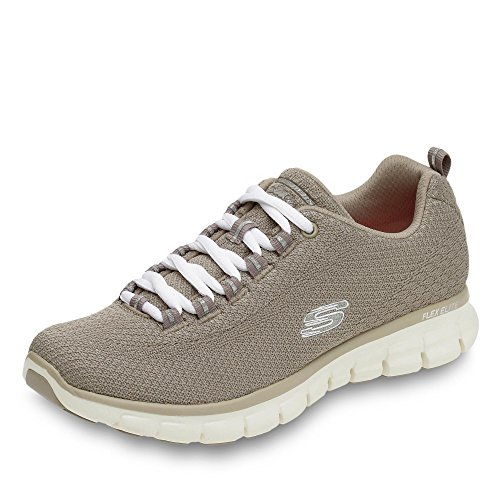 Skechers Synergy Safe and Sound, Running Femme Beige