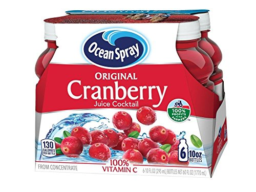 (Ocean Spray Cranberry Juice Cocktail, 10 Ounce (Pack of 6))