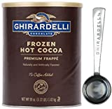 Ghirardelli - Frozen Hot Cocoa Premium Frappé 3.12lbs - with Exclusive Measuring Spoon