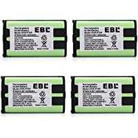 EBL 4 Pack cordless phone battery for Panasonic HHR P104 HHR P104A 900mAh 3.6V Home Batteries