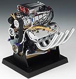 Liberty Classics Hemi Top Fuel Dragster Engine Replica, 1/6th Scale Die Cast