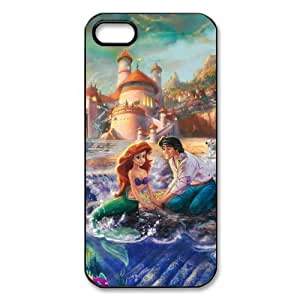 Little Mermaid Design Plastic Case For Iphone 5 5s iphone5-New103