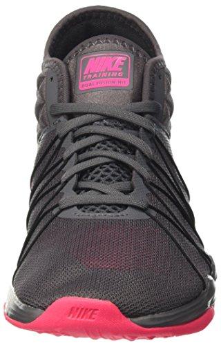 Hyper Dual Fusion Chaussures W Mid black Gris white Nike Femme Grey Gymnastique Hit TR Dark de Pink T1BOqnwH5
