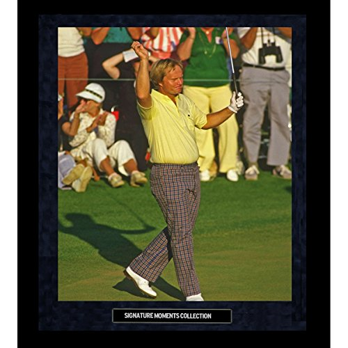 Jack Nicklaus 1986 Masters Wave Framed Golden Moments 16x20 Photo Jack Nicklaus 1986 Masters