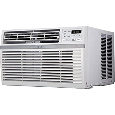 LG LW8015ER 8,000 BTU 115V Window-Mounted Air Conditioner with Remote Control