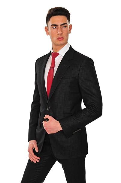 Tom Ford Traje Hombre Negro Blazer- Pantalón Negro 48 Normal ...