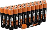 aaa batteries - 28 Pack AmVolt AAA Batteries [Ultra Power] Premium LR3 Alkaline Battery 1.5 Volt Non Rechargeable Batteries for Watches Clocks Remotes Games Controllers Toys & Electronic Devices