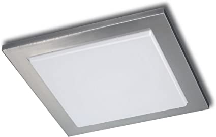 Philips 302071748 roomstylers square flushmount ceiling light philips 302071748 roomstylers square flushmount ceiling light matte chrome aloadofball Gallery
