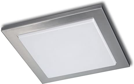 Philips 302071748 roomstylers square flushmount ceiling light philips 302071748 roomstylers square flushmount ceiling light matte chrome aloadofball Images