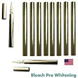 Teeth Whitening Gel Pens 35% Carbamide Peroxide Tooth Bleaching Formula Pen with Brush Tip Gel Dispenser. 10 Whitening Pens.