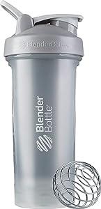 BlenderBottle Classic V2 Shaker Bottle, 28-Ounce, Pebble Grey