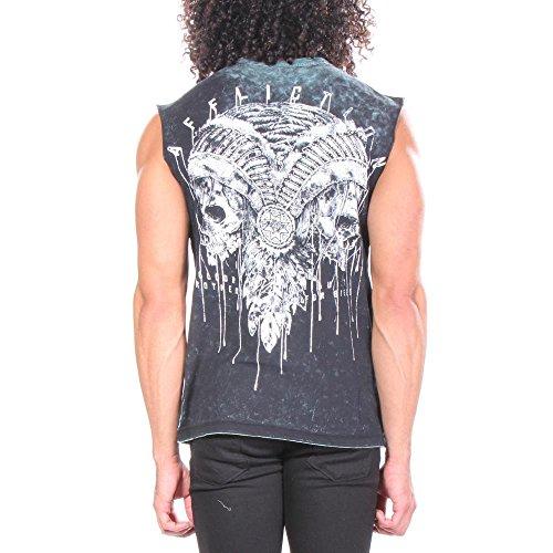 Affliction Hommes shirts Divio Tarnished T ZxTZrfq