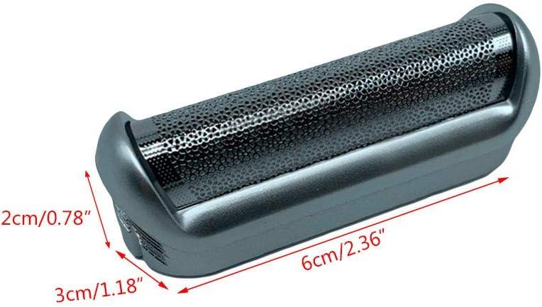 Grbewbonx Película de afeitar 5S con marco para BRAUN P40 P60 P70 ...