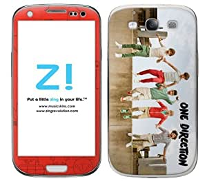 Zing Revolution One Direction Premium Vinyl Adhesive Skin for Samsung Galaxy S III - Retail Packaging - Jump