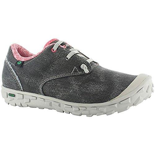 Hi-Tec - Zapatillas deportivas modelo Ezeez Lace I para mujer Negro/gris