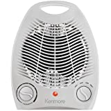 Kenmore Compact Heater Fan - White