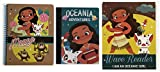 Disney Moana School Supplies Set with Single Subject Notebook, Composition Notebook, and a 2-Pocket Folder