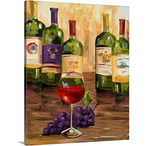 Gallery-Wrapped Canvas Entitled Chianti II by Heather French-Roussia 38
