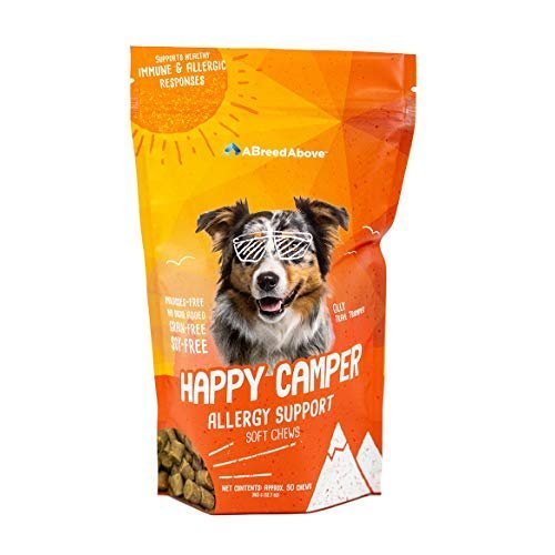 A Breed Above: Happy Camper Allergy Support, 90 Count by A Breed Above: Happy Camper