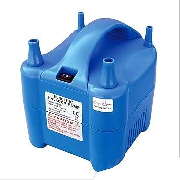 GUANGBO Bomba De Aire Eléctrica Alta Presión Inflación Rápida Doble Cabeza Globo Portátil Portátil Compresor De