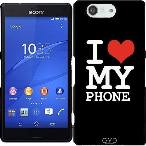 Funda para Sony Xperia Z3 Compact - Amo A Mi Teléfono by wamdesign
