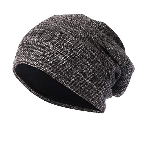 - WUAI Clearance Deals,Mens Womens Knit Baggy Hats Warm Crochet Winter Wool Ski Beanie Casual Skull Caps (Black,Free Size)