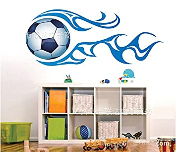 Theme Decal TM 12030cm Football Soccer Sports Boys Room Wall Stickers Removable