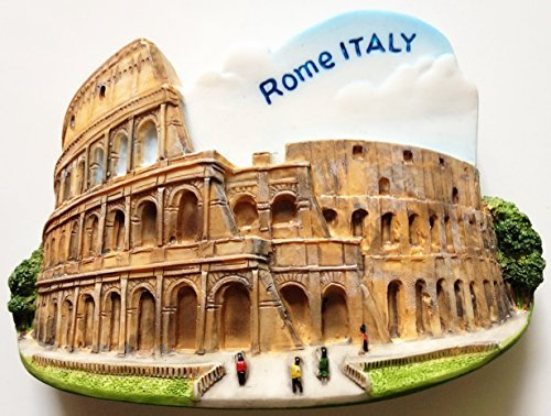 Colosseum ROME Italy Resin 3D fridge Refrigerator Thai Magnet Hand Made Craft. by Thai MCnets