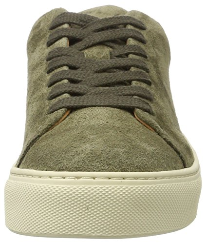 Sfdonna forest Green Sneaker top Selected Women''s Suede Night Low q5WStB0n