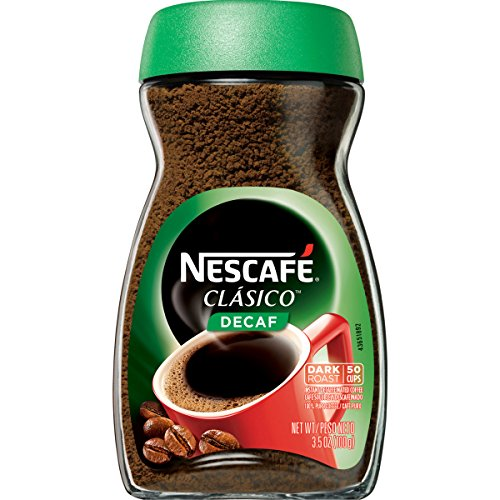 Nescafe Clasico Decaf Instant Coffee, 3.5 oz