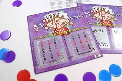 Pregnancy Announcement - High Roller Lotto Replica - Scratch Off Card - 5 Pack - My Scratch Offs