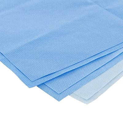 "Kimberly Clark Safety 68030 KIMGUARD KC200 Sterilization Wrap, 30"" x 30"" (Pack of 300)"