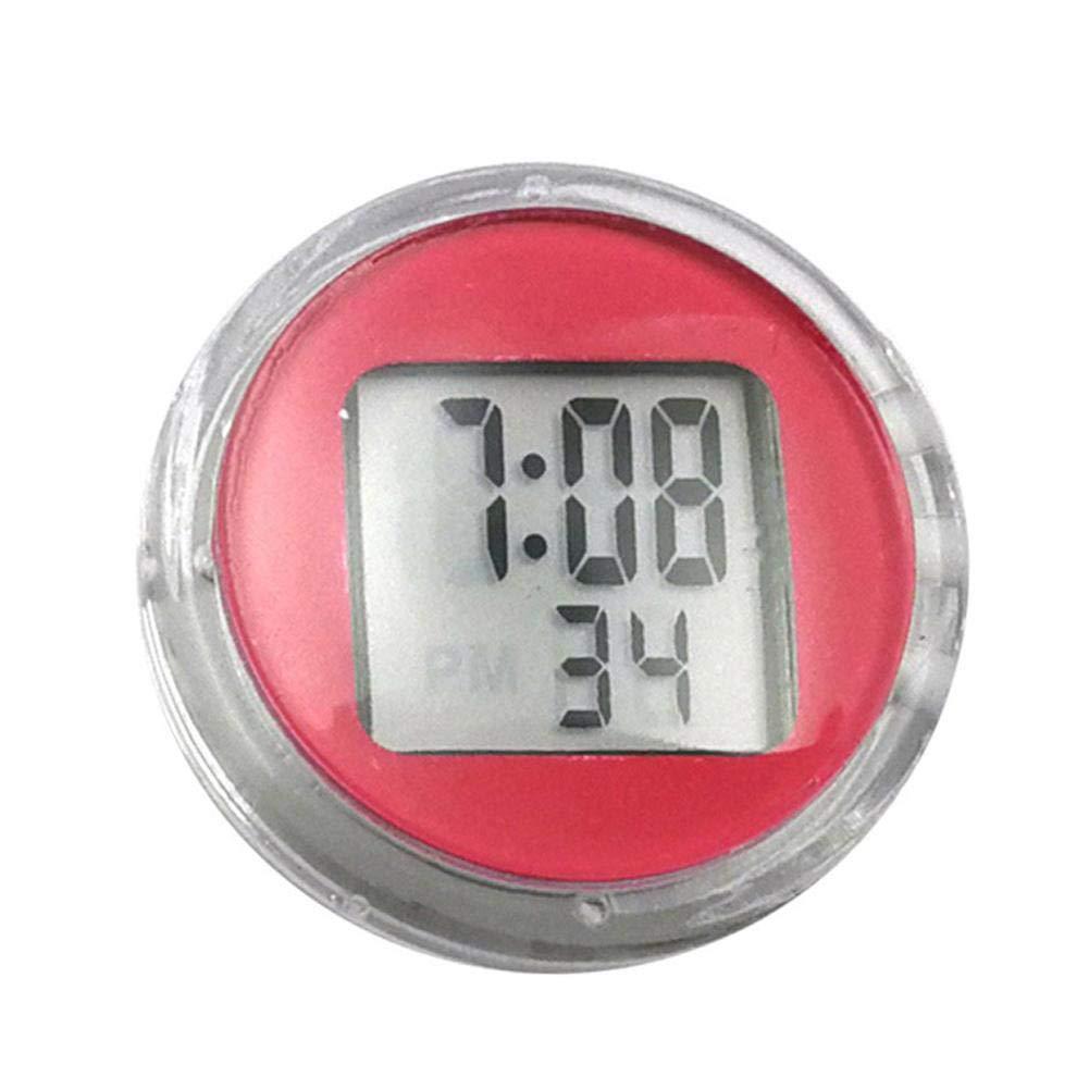 Rungao 1 pcs Moto Bike Horloge montre é tanche Autocollant Moto Digital Clock