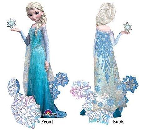 Elsa Party Supplies (Frozen's Elsa The Snow Queen Airwalker Birthday Balloons Decoration - 57