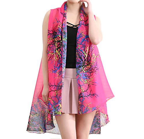Silk Voile Floral Skirt - 3
