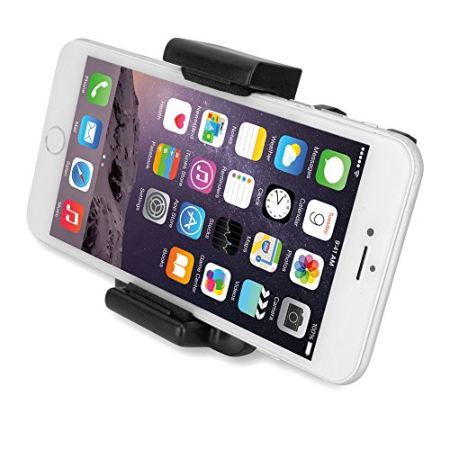 BoxWave EZView Car Mount Micromax A94 Canvas MAd Car Mount - Universal Car Vent Mount Smartphone Cradle Fits All Major Smartphones - Galaxy s5 / s4, iPhone 5s/5, Note 4, Note 3, HTC One, Nexus and More!