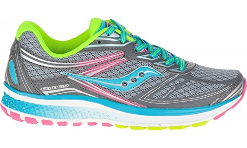 Saucony Guide 9Girls (Grey/Multi Color)