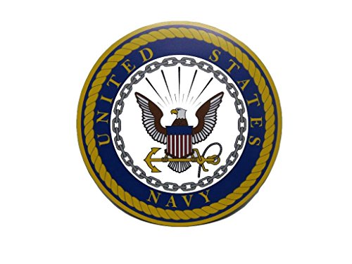 ALBATROS U.S. Navy USN Emblem Crest Circular 5ft Inch Magnet (Car Fridge Other) for Home and Parades, Official Party, All Weather Indoors Outdoors ()