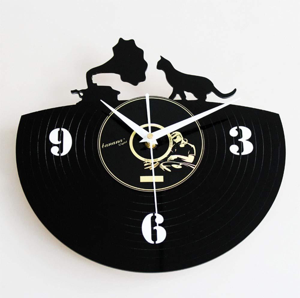 sunxiaoqing Moda Creativo Vinilo Disco CD Reloj de Pared Retro ...