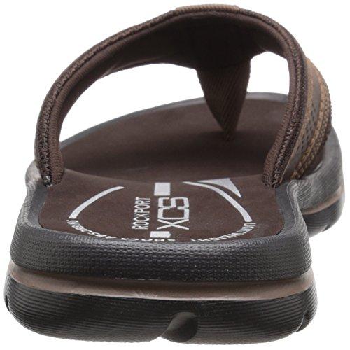 Rockport Mens Get Your Kicks Thong Sandal Coffee qA9GggVlA3