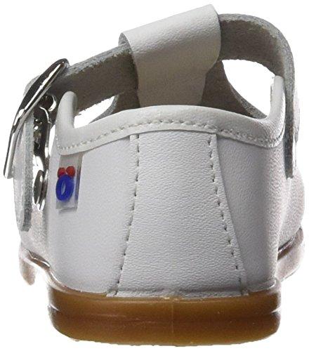 Conguitos Baby Jungen Hvs12200 Krabbel-& Hausschuhe Weiß (White)