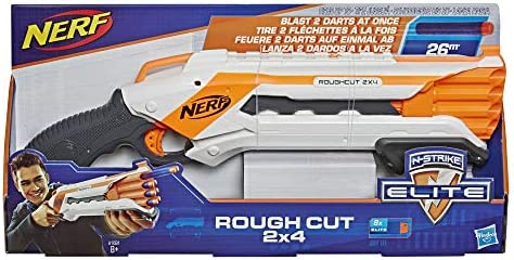 Nerf - Elite Rough Cut 2X4 (Hasbro A1691EU4): Amazon.es: Juguetes ...