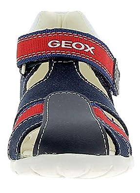 Geox Geox B Elthan Kinder Sandalen Blau Rot Blau, 19