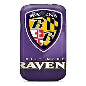 Best Hard Phone Cover For Samsung Galaxy S3 (nNu13726XELG) Support Personal Customs Stylish Baltimore Ravens Pattern