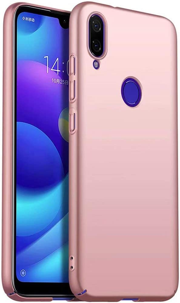 WYRHS Compatible with Samsung Galaxy A20//A30 Phone Case Silicone PC Cover,Ultra Thin Bumper Shockproof Scratch-Resistant Phone Shell Rosegold