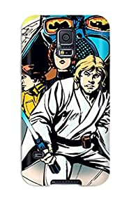 [zLQPaJb3349fUOJn] - New The Illustrated Starwars George Lucas Force Jedi Yoda Darth Vader People Movie Protective Galaxy S5 Classic Hardshell Case