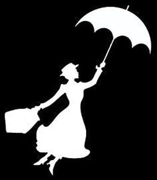 Mary Poppins Aufkleber Decal Von Supersticki Ohne Hintergrund