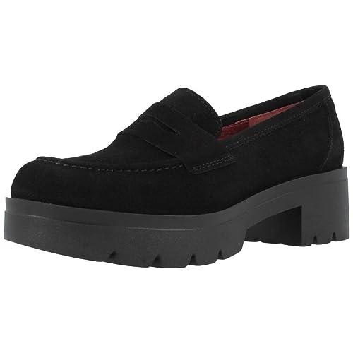 Mocasines para Mujer, Color Negro, Marca YELLOW, Modelo Mocasines para Mujer YELLOW ROTHERDAM Negro: Amazon.es: Zapatos y complementos