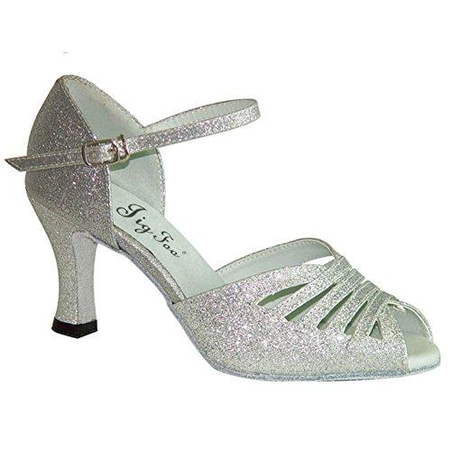 dancing Ladies Camoscio shoes ballo B adulto da latino per scarpe adulti OWqOSwP8