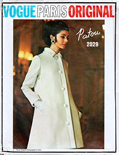 Vogue Paric Original 2029 Patou Misses 2 piece Evening Dress and Coat Sewing Pattern Size 10 Bust 32.5